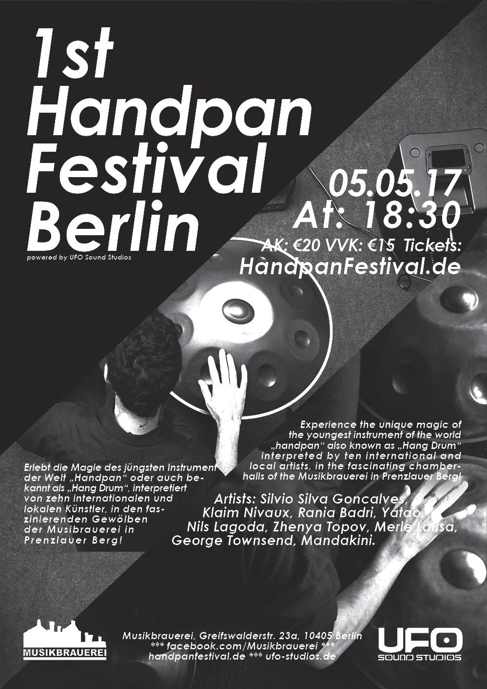 Handpan Festival Berlin – Mandakini