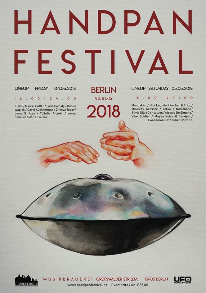 """2nd Berlin Handpan Festival (2018) """"Mandakini"""""""