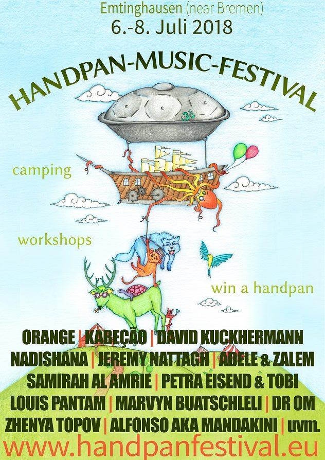 "Handpan-Music-Festival (Emtinghausen) ""Mandakini"""